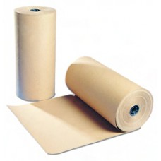 Pure Ribbed Kraft Brown Paper Roll 750mm x 225m