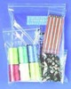 "Grip Seal Bags 50 x 230mm ( 2"" x 9"" ) - Long / Slim Pencil / Necklace Shape"